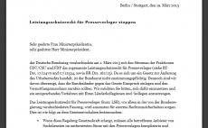 Offener Brief: Leistungsschutzrecht für Presseverlage stoppen