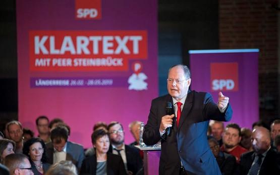 Peer Steinbrück | Foto: Marc-Steffen Unger