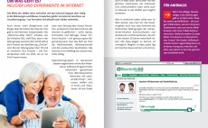 Broschüre: Online-Ratgeber – Seniorinnen und Senioren sicher im Netz