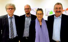 Prof. Johannes Caspar, Tobias von Pein, Dr. Nina Scheer, Gerold Reichenbach