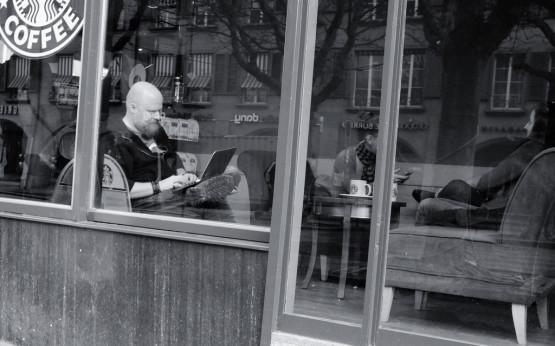 WLAN im Cafe