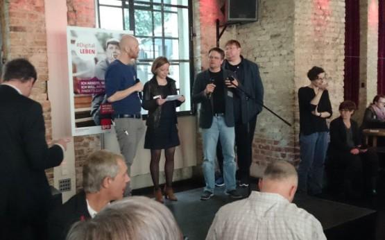 Moritz Karg auf dem BarCamp #DigitalLeben