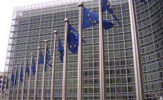 Das Berlaymont-Gebäude in Brüssel - Sitz der Europäischen Kommission