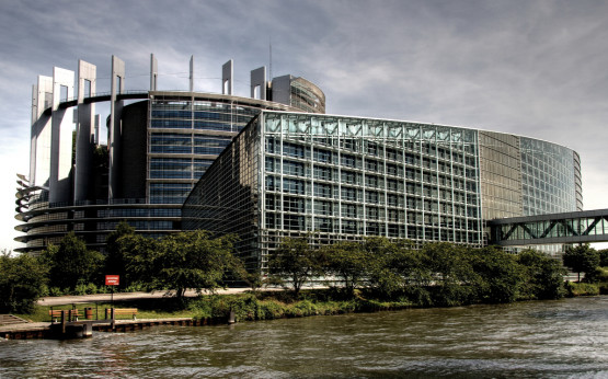 EU-Parlamentsgebäude in Straßburg