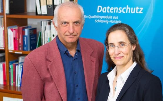 Thilo Weichert und Marit Hansen