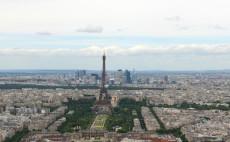Paris Panorama mit Eiffelturm