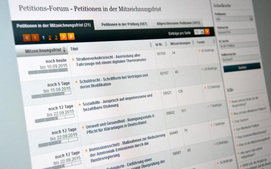 Online-Petitionen