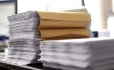 Papier-Akten