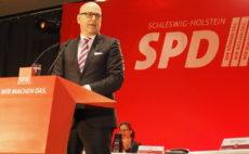 Torsten Albig auf dem SPD Landesparteitag, 26.11.2016